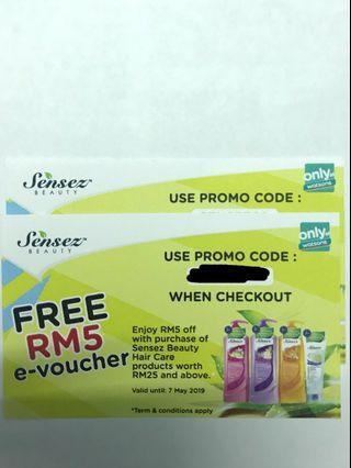 [Free] Watsons E-voucher #EST50