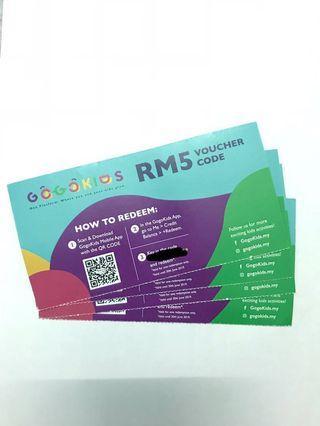 [Free] GO GO KIDS RM5 voucher code #EST50