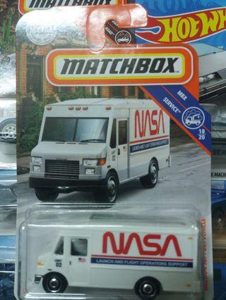 Matxhbox Mission Support Vehicle Van
