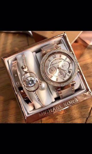 🚚 MK三眼手錶及套件