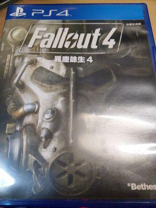 PS4 Fallout 4 90%新