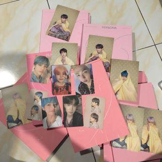 WTB/LF BTS PERSONA VER 1 ALL MEMBERS PHOTOCARDS