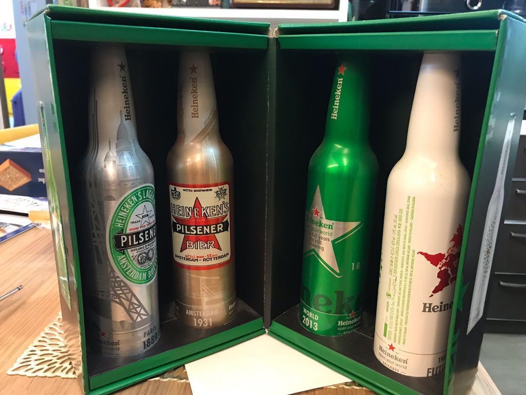 喜力啤酒連盒