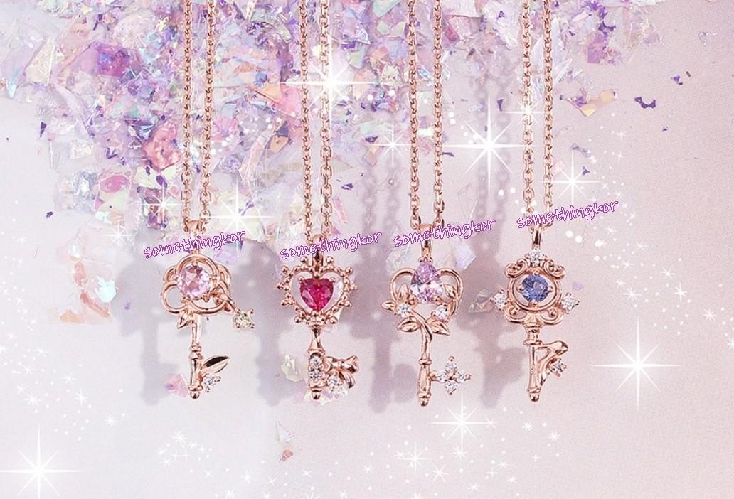 韓國 Korea Disney Beauty and the Beast necklace 美女與野獸 頸鏈