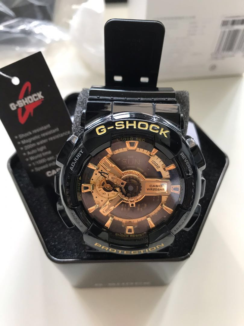 ba941127db0 🗣  Price Reduced  Casio G Shock watch - Black Gold