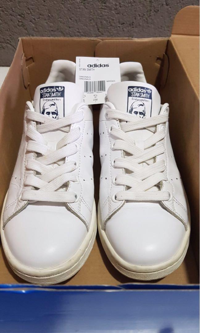76d76452ca72f Adidas Originals Stan Smith Navy Blue US 5 Mens (Fits US 6.5-7 ...