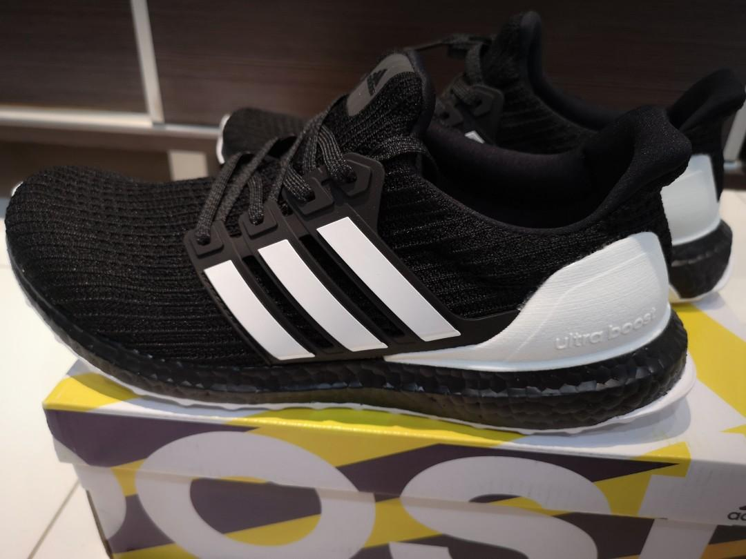 reputable site a9270 35a82 Adidas Ultra Boost 4.0 core black / ftwr white / carbon ...