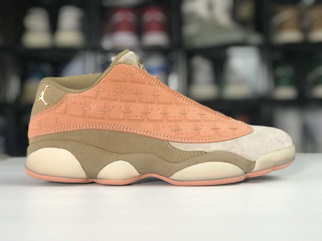 7aad89e7d1b5 Air Jordan 13 Low Terracotta x CLOT