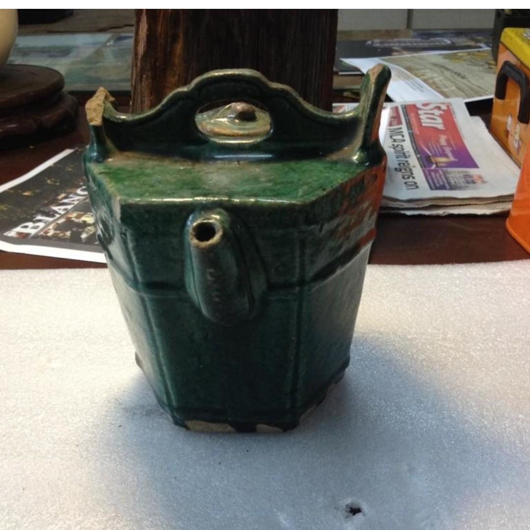Antique Vintage Ancient Chinese Teapot
