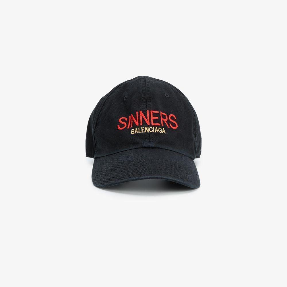 8adf2e8a BALENCIAGA SINNERS CAP, Men's Fashion, Accessories, Caps & Hats on ...