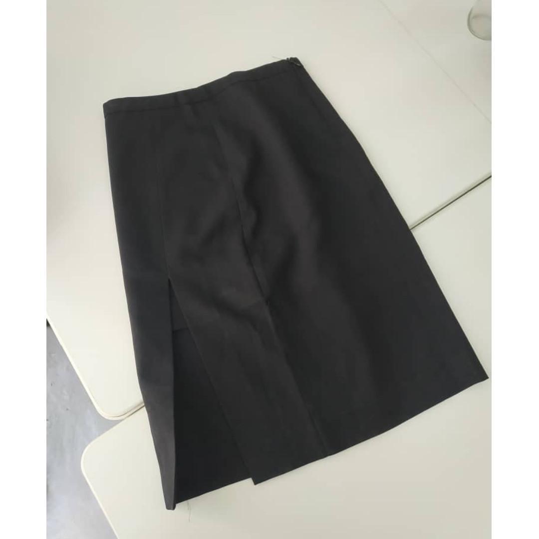 Black Skirt Formal MNG