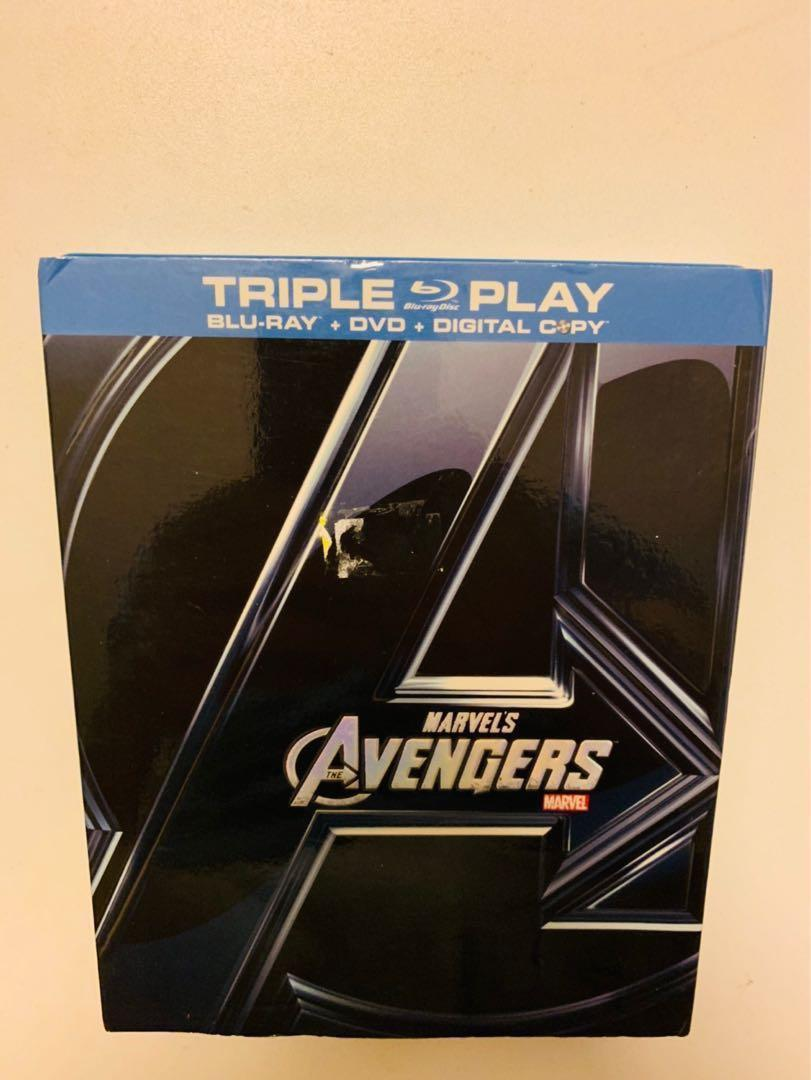 Blue Ray Marvel Avenagers