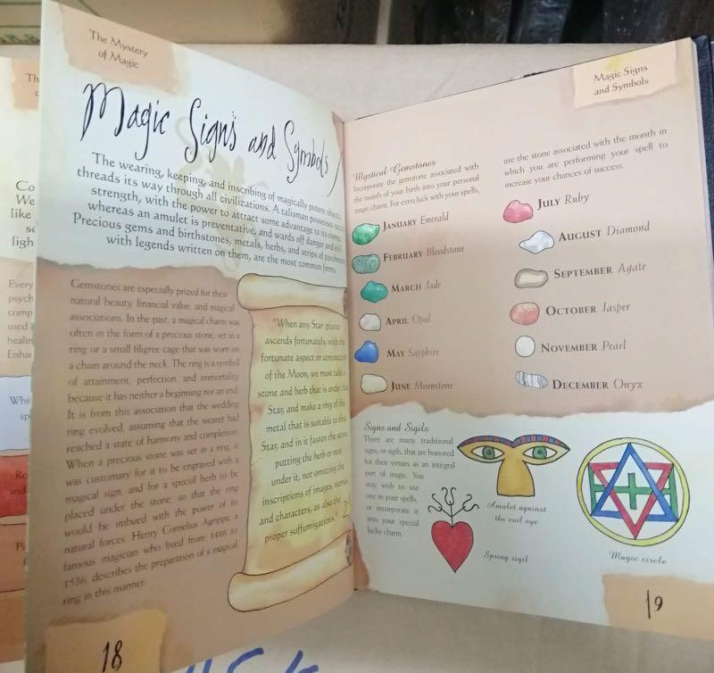 Book of spells fun witch craft