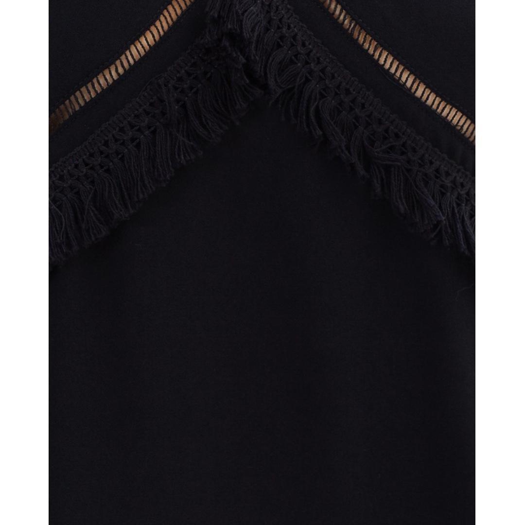Brand New Living Doll Easy-Wear Black Dress: Size 10