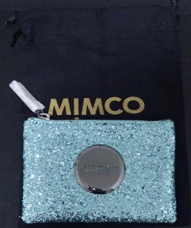 BRAND NEW Mimco Sparks Fly Light Blue Pouch (Small)