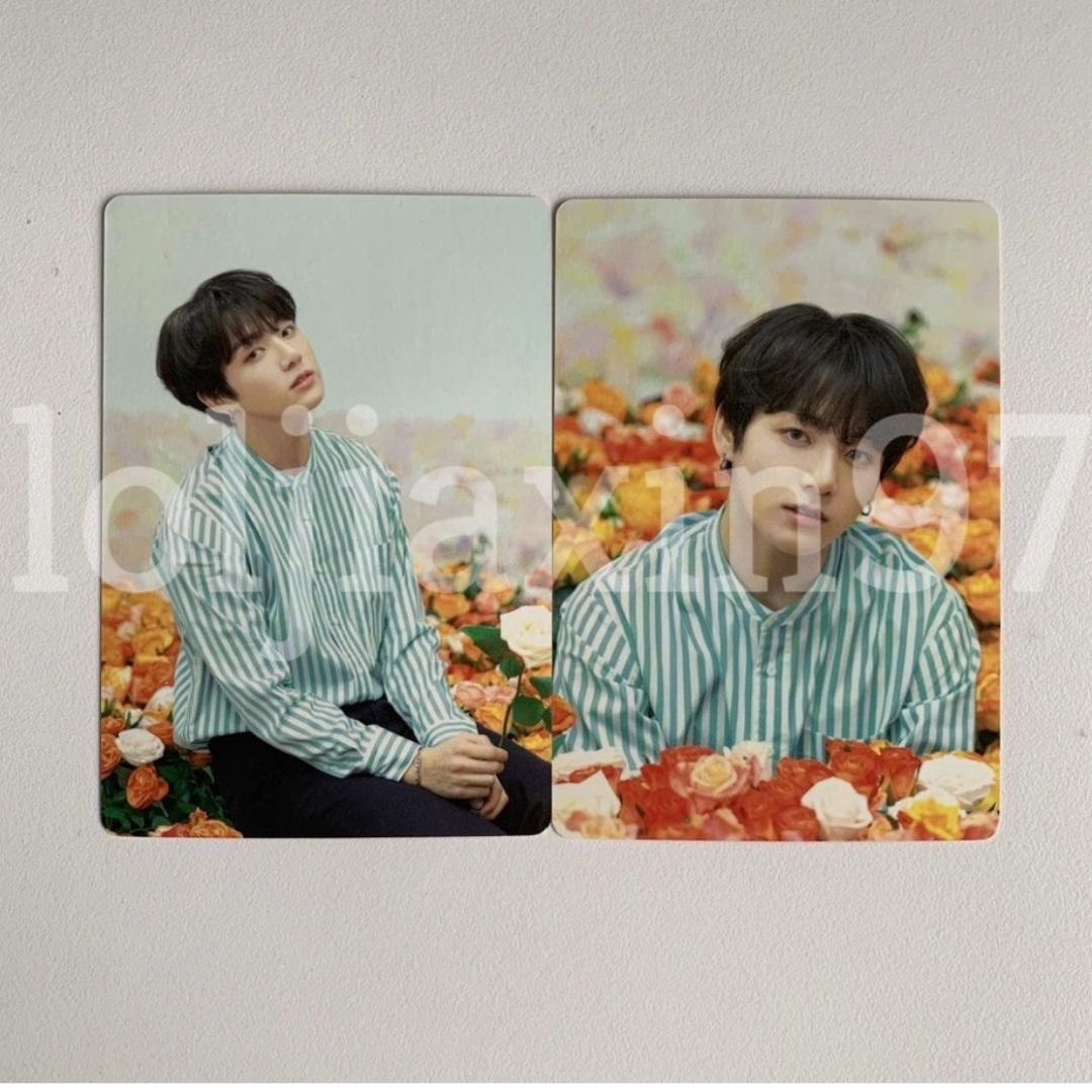 BTS JUNGKOOK OFFICIAL JAPAN LOVE YOURSELF MINI PC PHOTOCARD PHOTO CARD