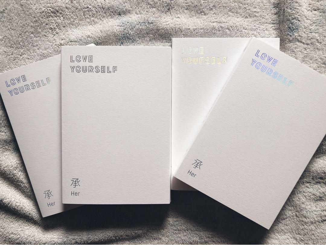 BTS Love Yourself Albums(LOVE ver) //without PC,with freebies🌸