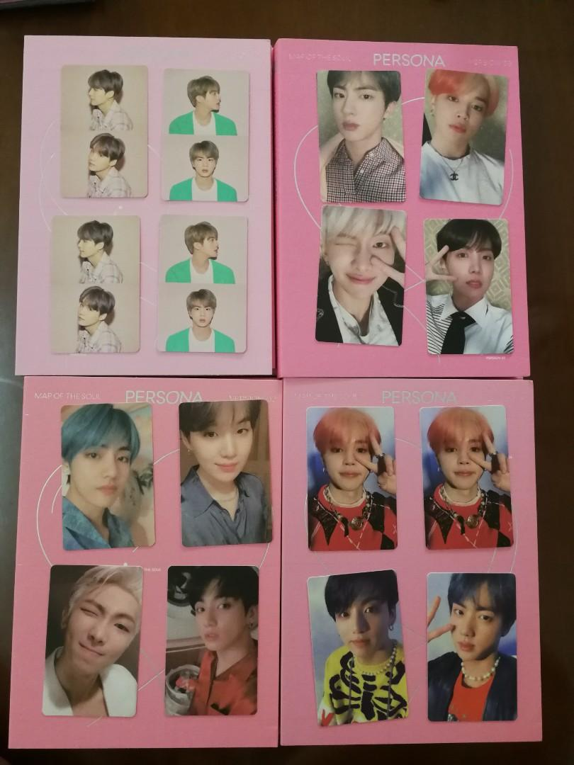 BTS Map of the Soul Persona Album Photocard