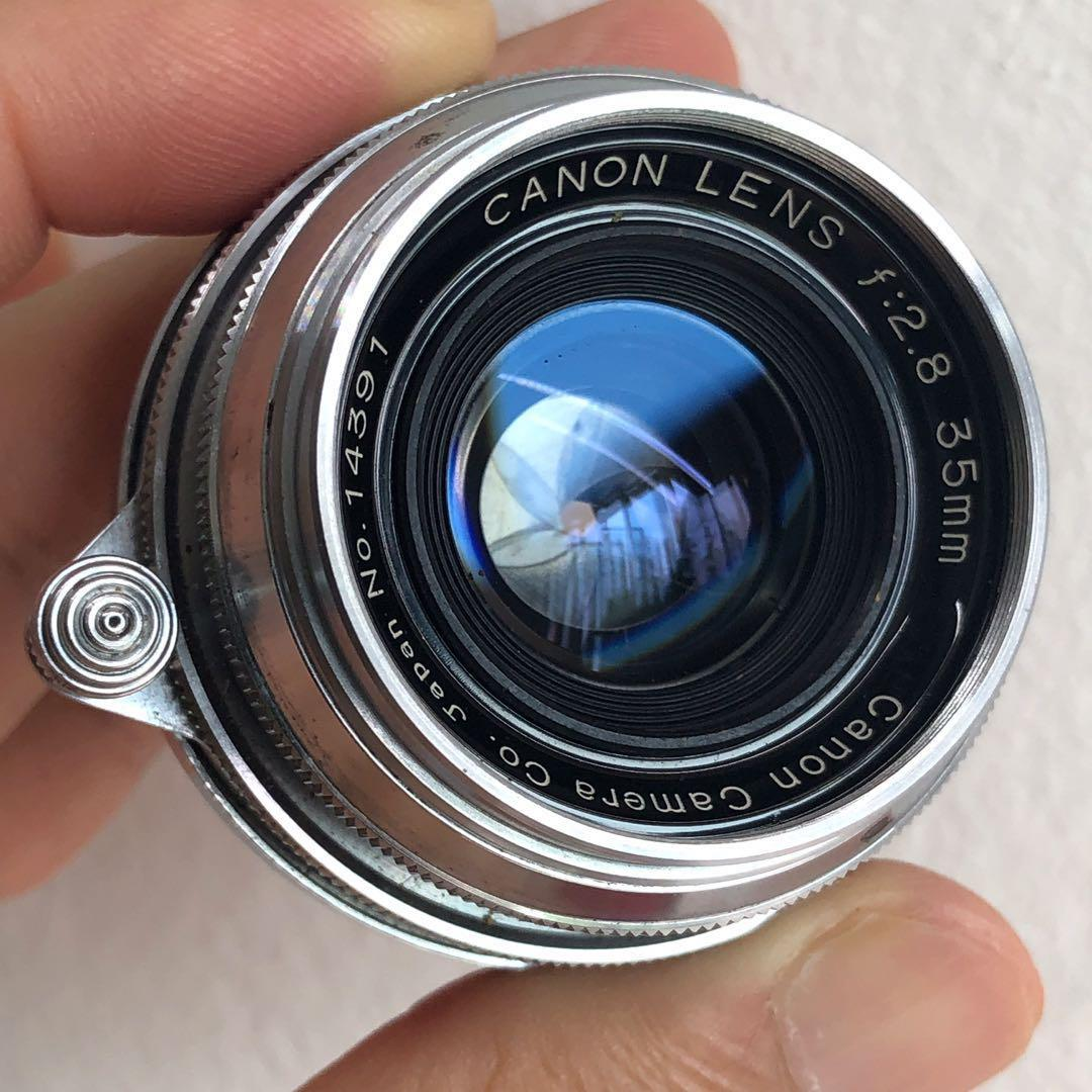 Canon 35mm F2.8 ltm with OVF