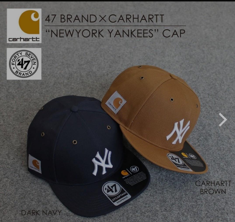 Carhartt x 47 New York Yankees Snapback, Men's Fashion
