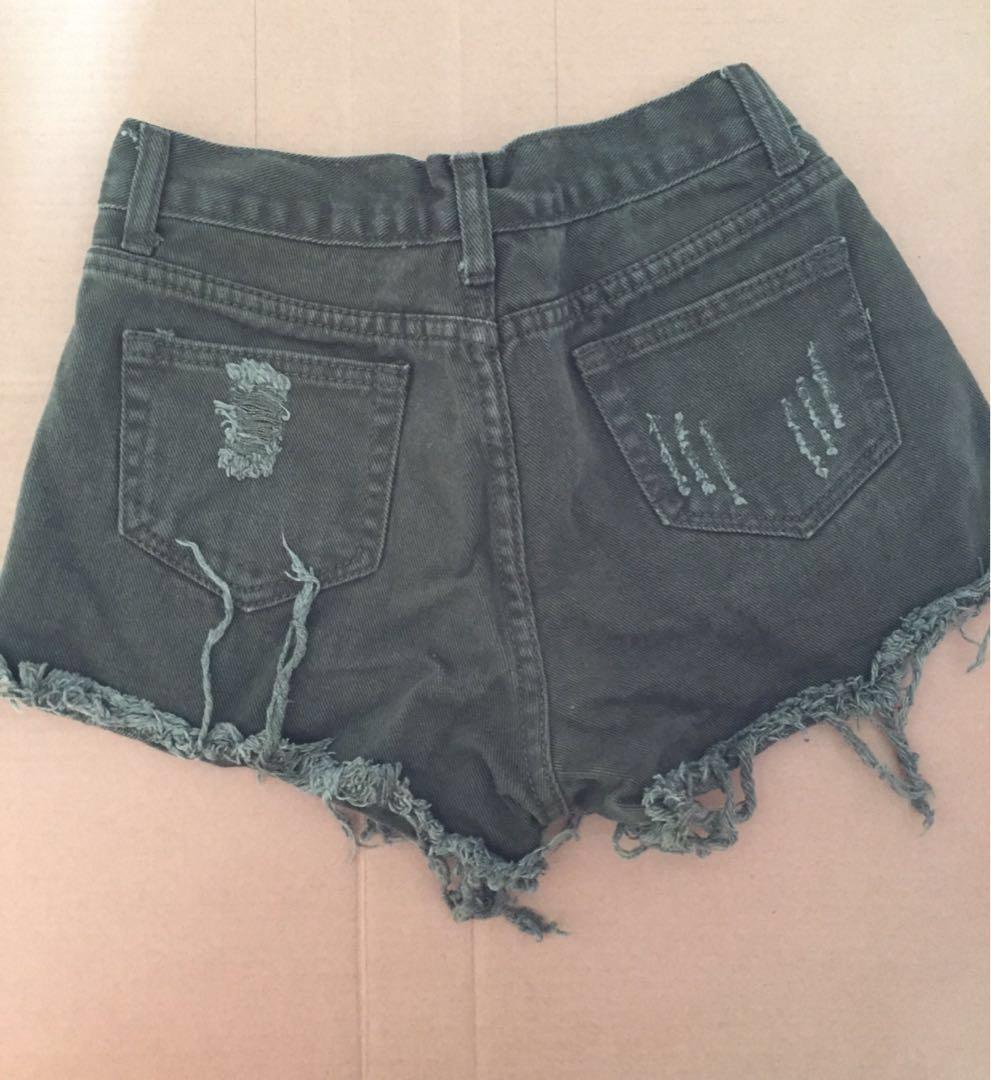 Celana Pendek Jeans Ripped #yukjualan
