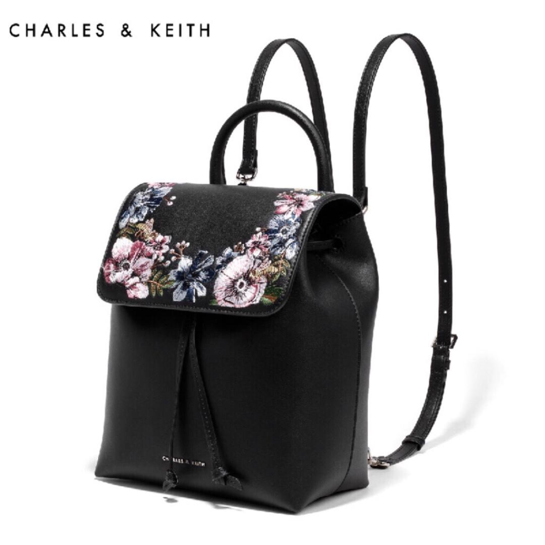 CHARLES & KEITH Backpacks - Black - CK2-20670558