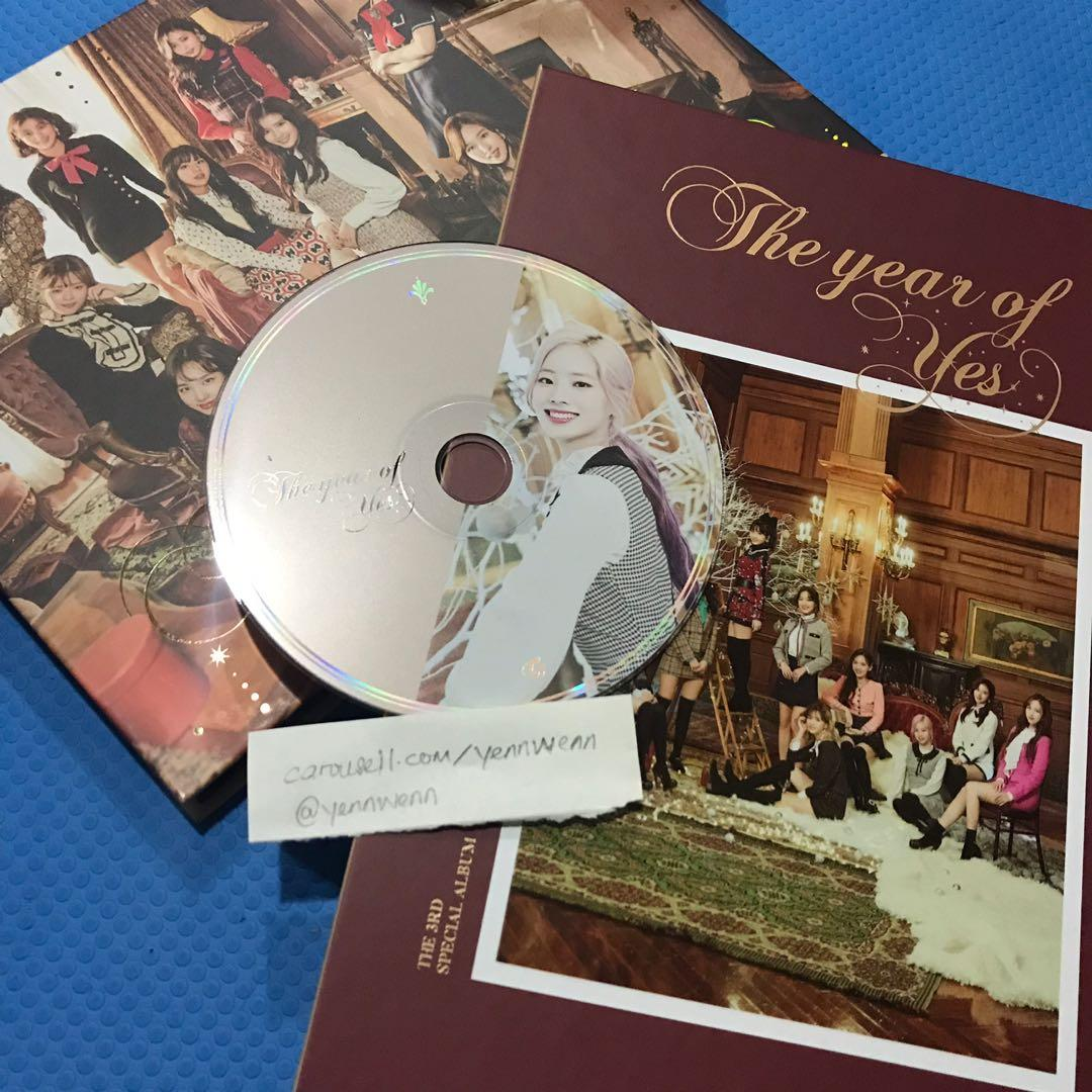 [CLEARANCE] UNSEALED Twice The Year Of Yes TYOY Official Album Dahyun CD
