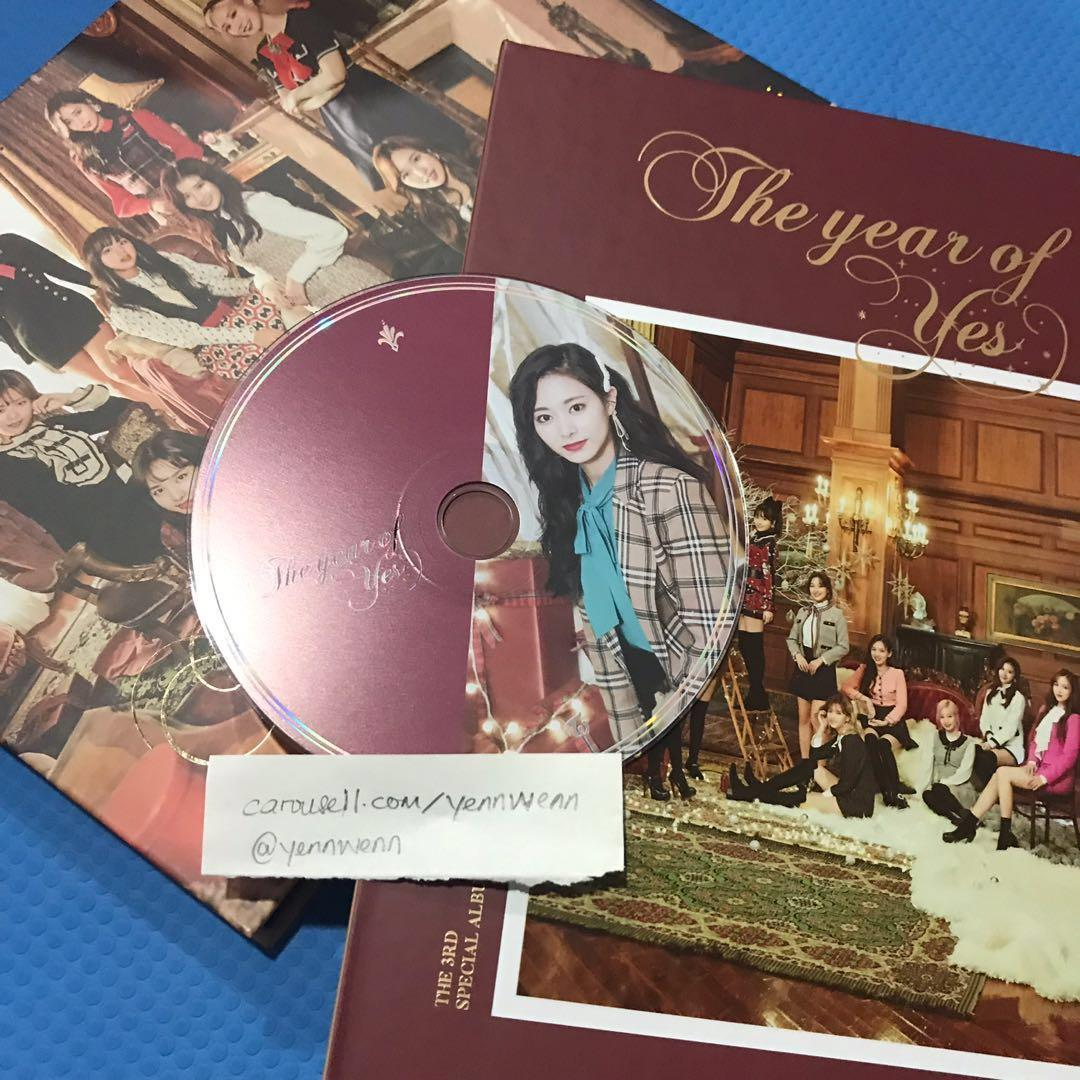 [CLEARANCE] UNSEALED Twice The Year Of Yes TYOY Official Album Tzuyu CD