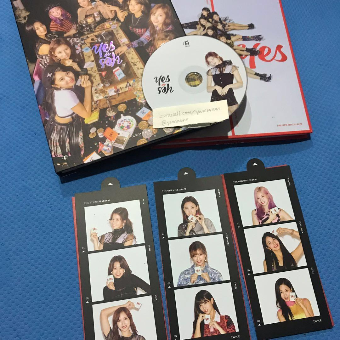 [CLEARANCE] UNSEALED Twice Yes Or Yes YOY Official Album Sana CD