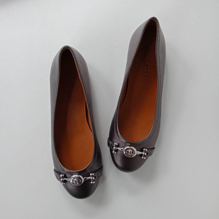 <price reduced> Coach Leila flats