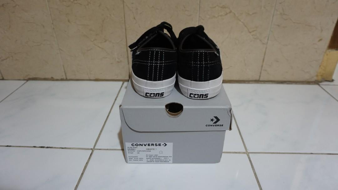 Converse Jack Purcell Ox Pro Black White