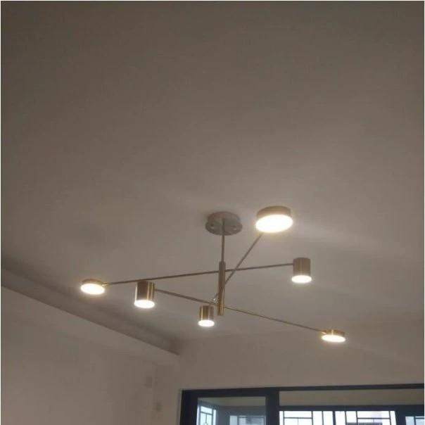 Criss cross pendant lights