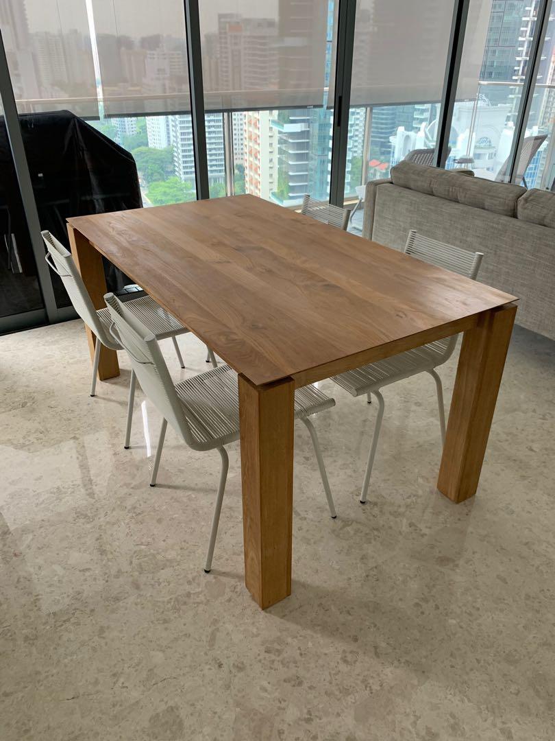 Designer Teak Dining Table Teak Bench Dining Chairs Furniture