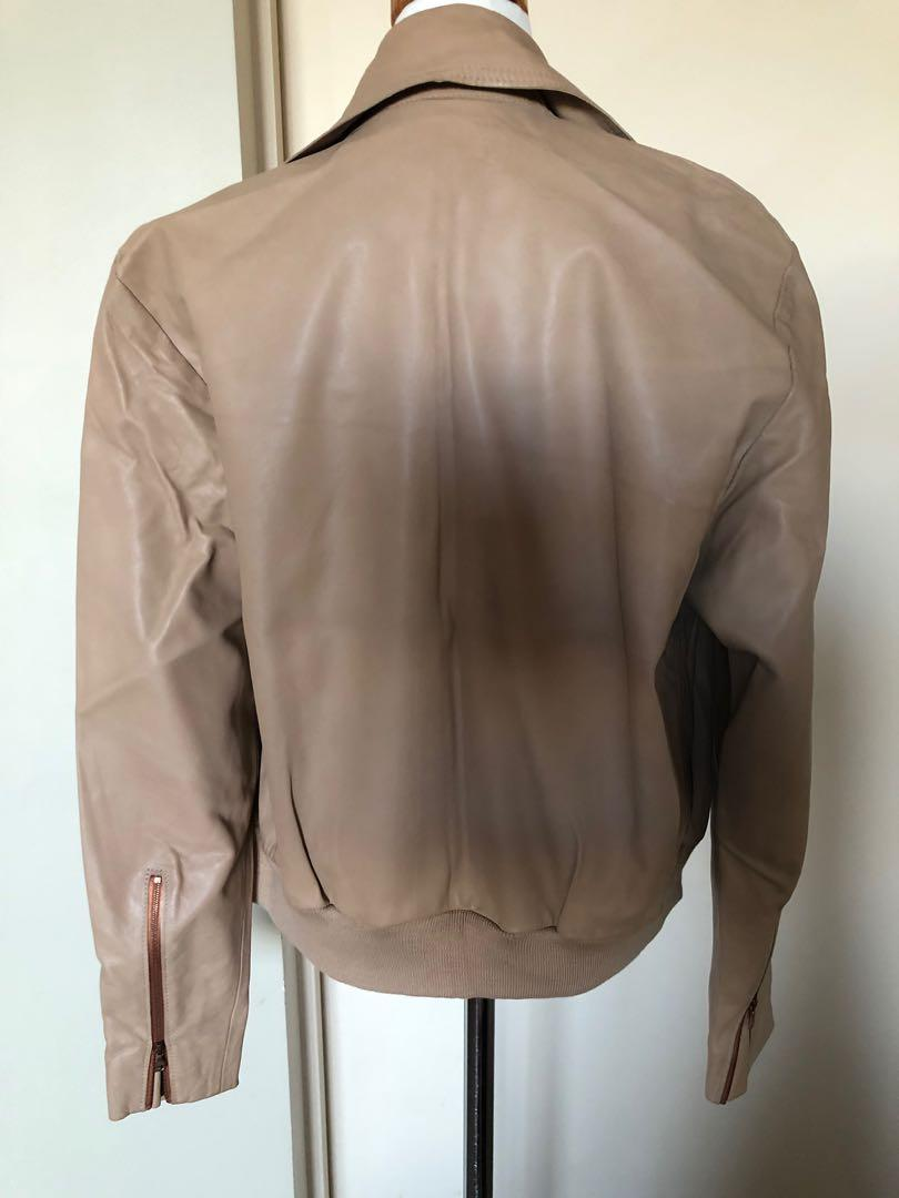 Ellery leather jacket in size Aus 6-10