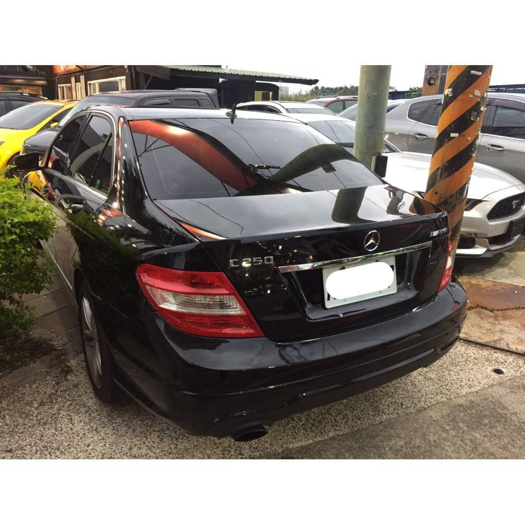 【FB搜尋桃園阿承】賓士 超人氣C250跑13萬 2012年 1.8 黑色 二手車 中古車
