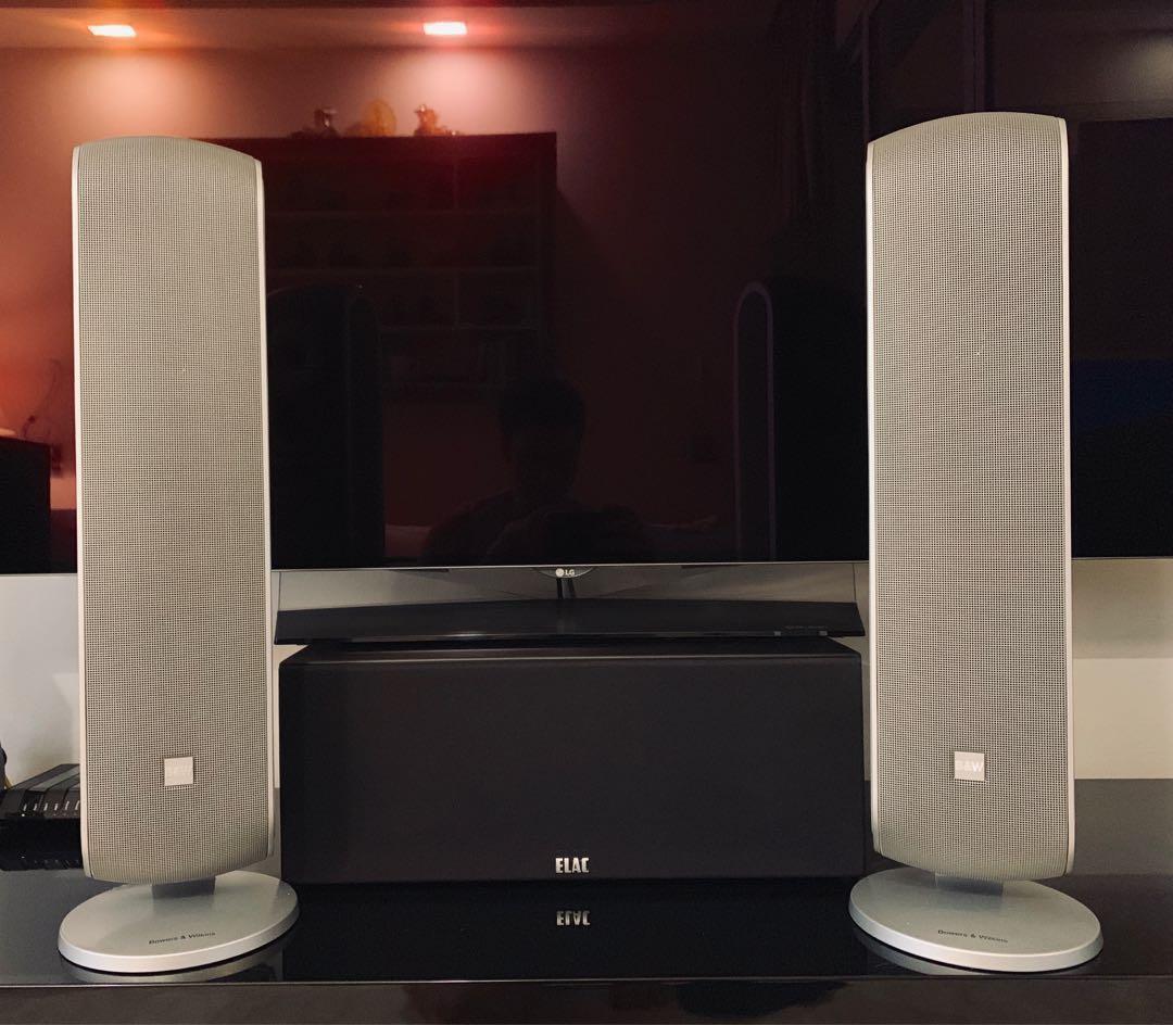 Bowers Wilkins Speakers >> For Sale Bowers Wilkins Vm1 Speakers One Pair Electronics