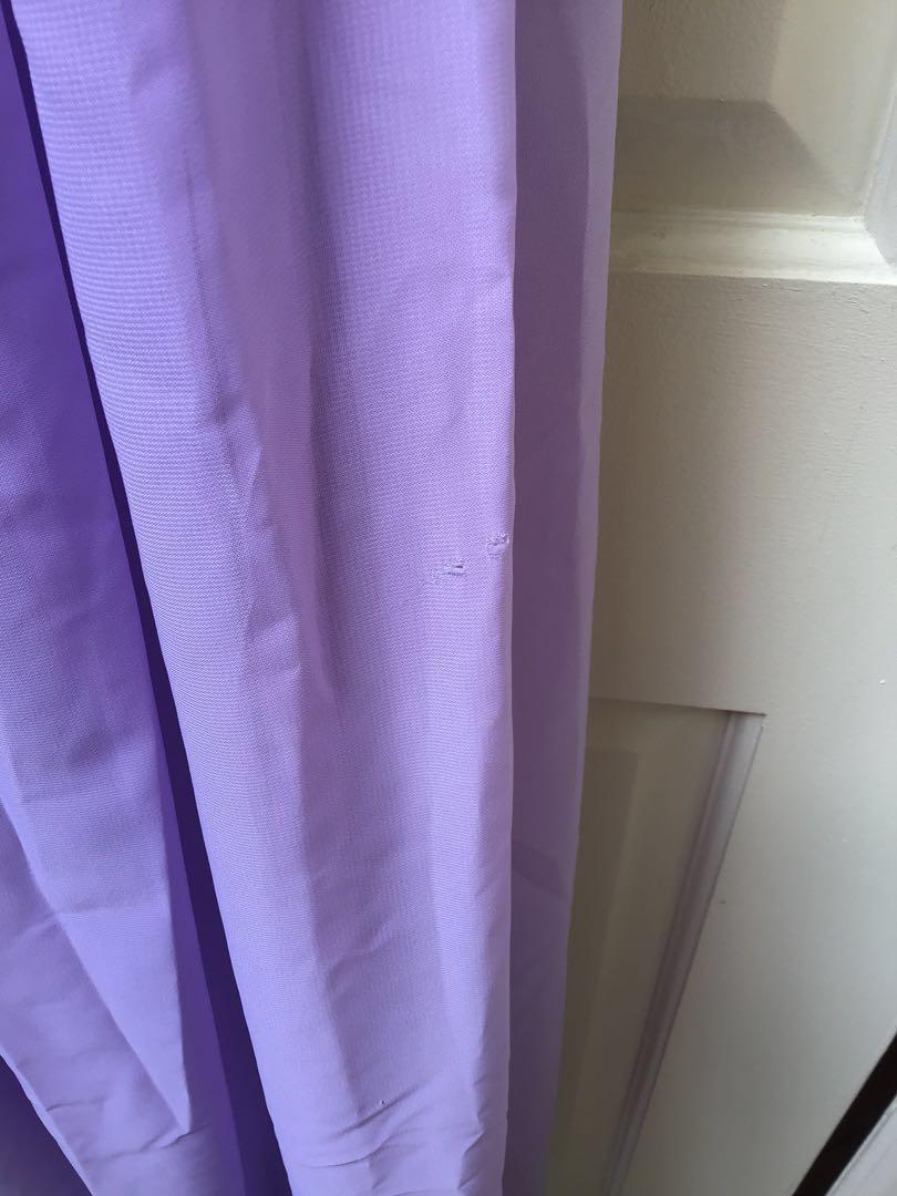 Formal Prom/Chiffon/Halter Neck/Floor Length Dress/Sz 4/Lilac