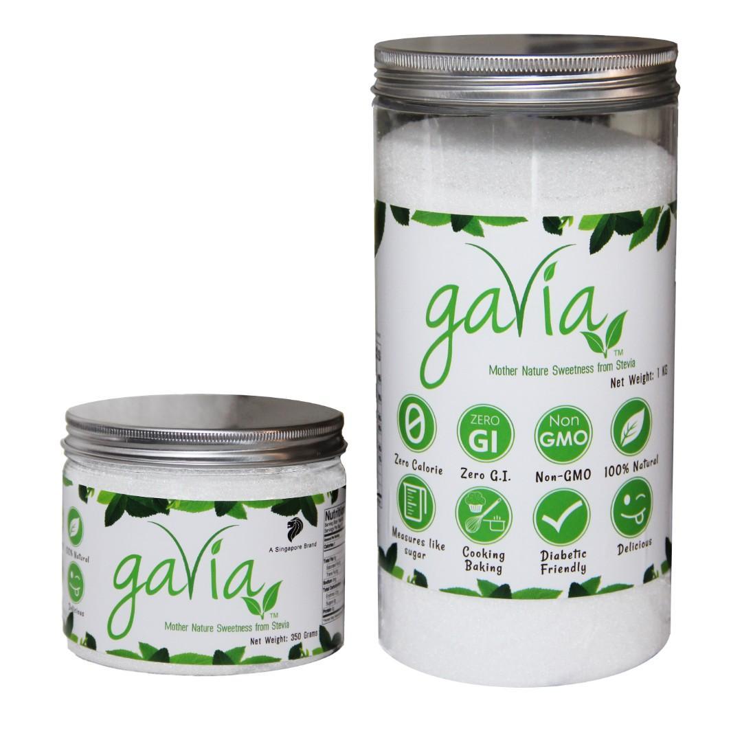 Gavia Natural Sweetener (1kg and 350g)