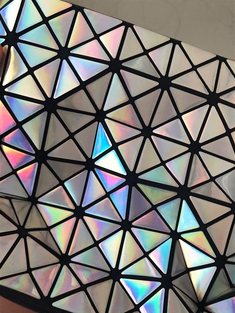Geometric Rainbow Bag