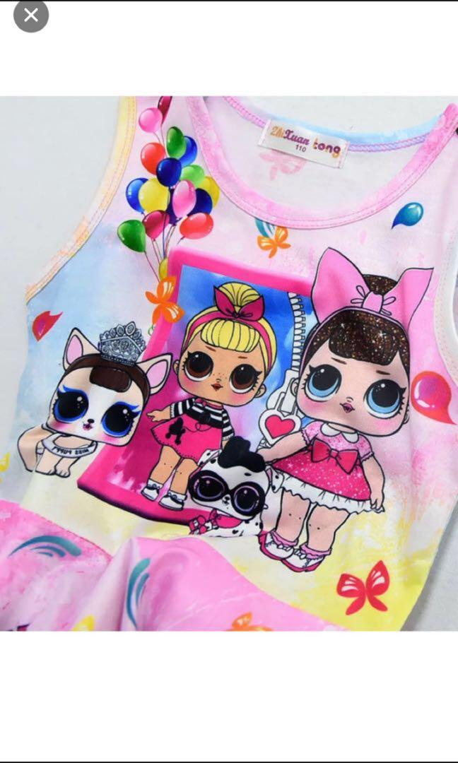 Instock now !! Lol surprise party/birthday dress brand new size Available For 110-140cm