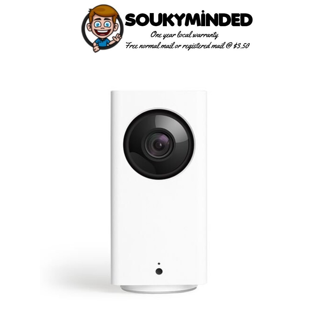[IN-STOCK] Wyze Cam Pan 1080p Pan/Tilt/Zoom Wi-Fi Indoor Smart Home Camera  with Night Vision and 2-Way Audio, Works with Alexa