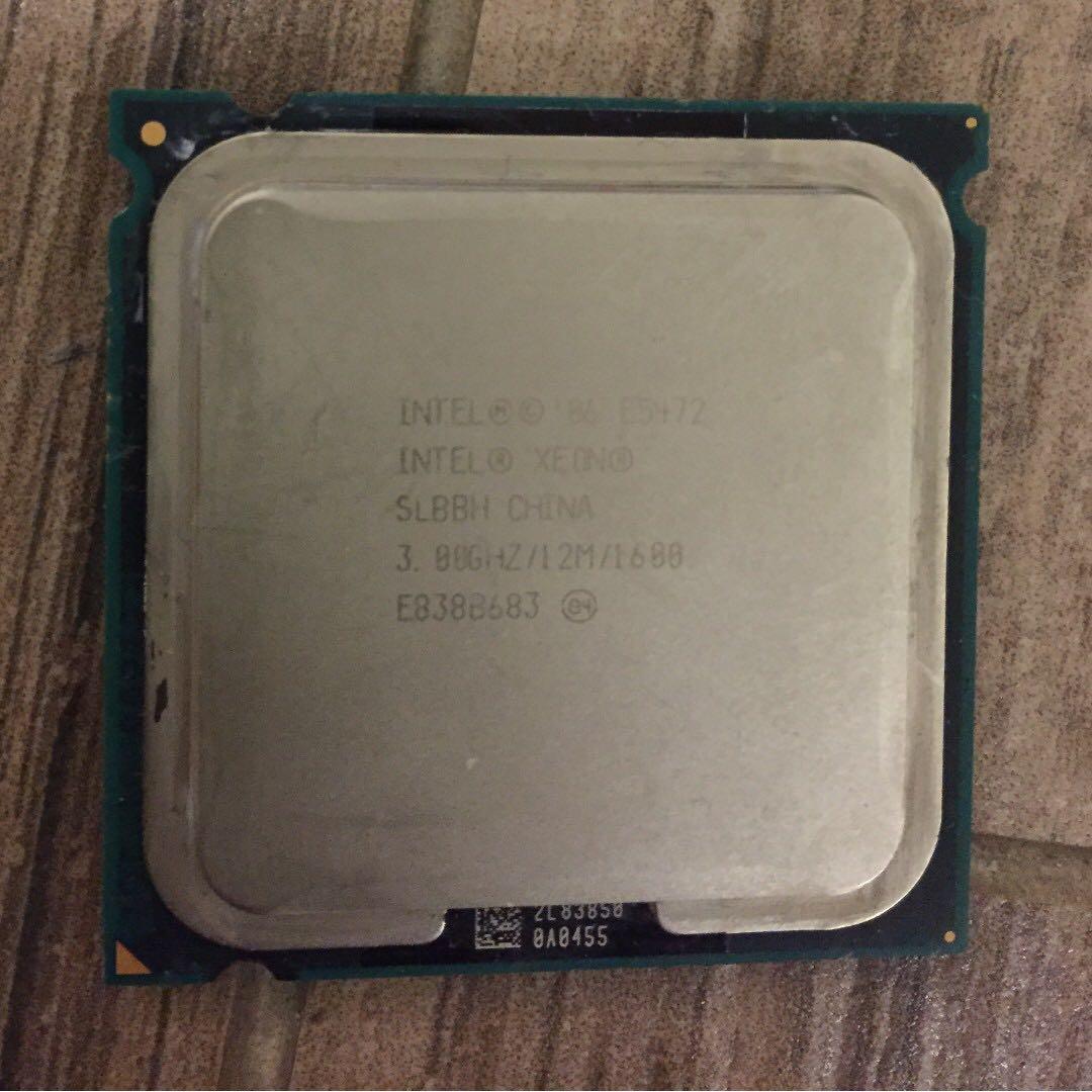 Intel Xeon E5472 E0 CPU 已改 LGA775 四核 3.0GHz FSB1600 12M