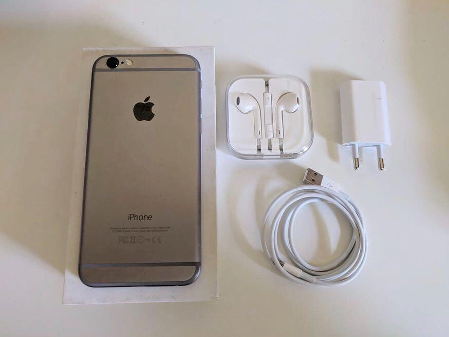 iPhone 6 space grey 64 gb Second
