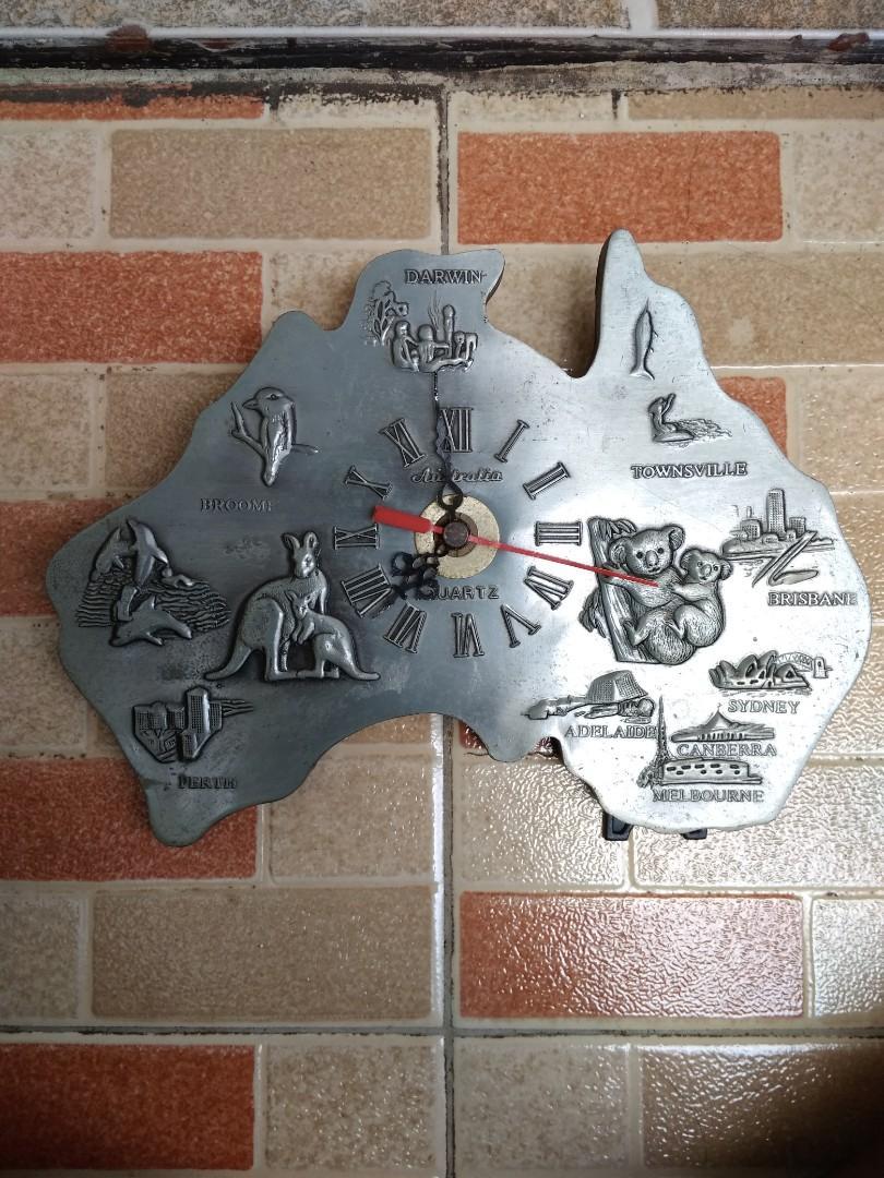 Jam Dinding & Meja QUARTZ AUSTRALIA