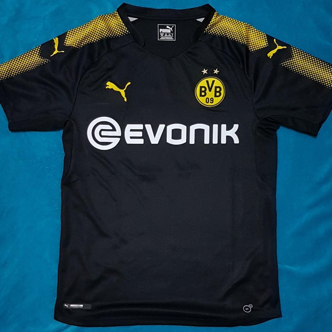 newest fcdf2 ff300 Jersey Borussia Dortmund Away 17/18, Reus, Authentic, Sports ...