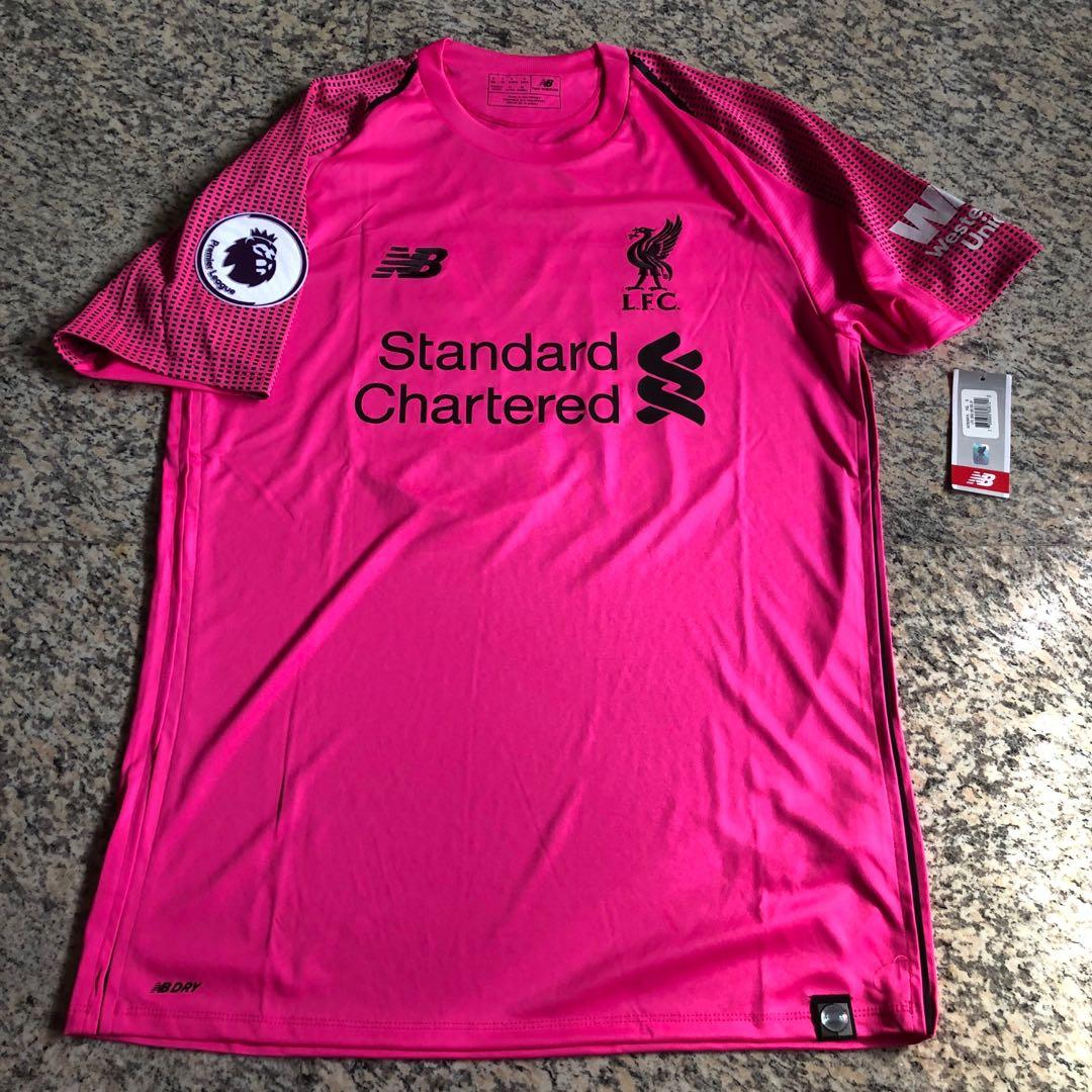 check out 4b322 e0696 Liverpool FC Goalkeeper 3rd Jersey 2018/19, Sports, Sports ...