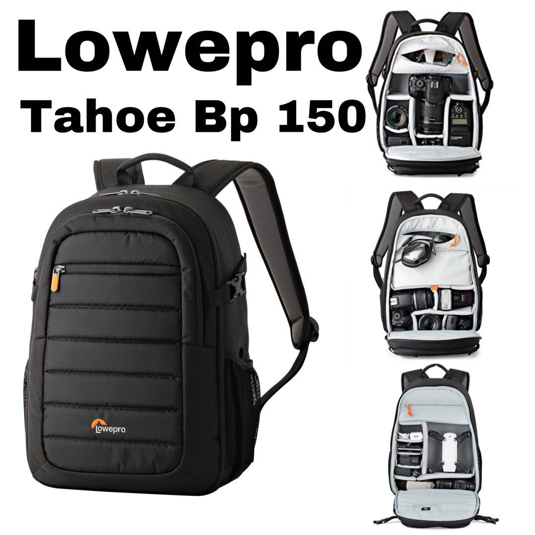 daff4e777e56 Lowepro Tahoe BP150 Backpack (Black), Photography, Cameras, DSLR on ...