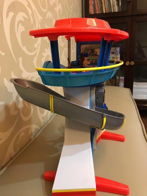 Mainan anak paw patrol seluncuran lookout play set Original