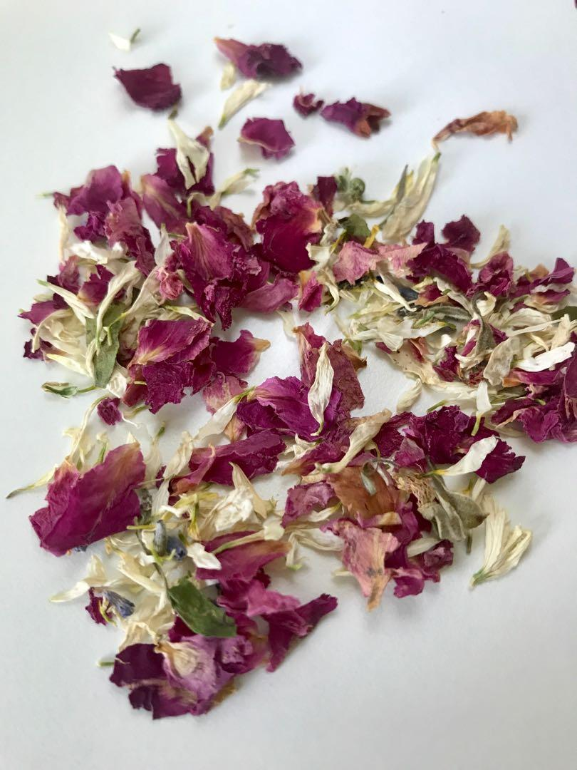 Mint Box Dried Flowers Confetti