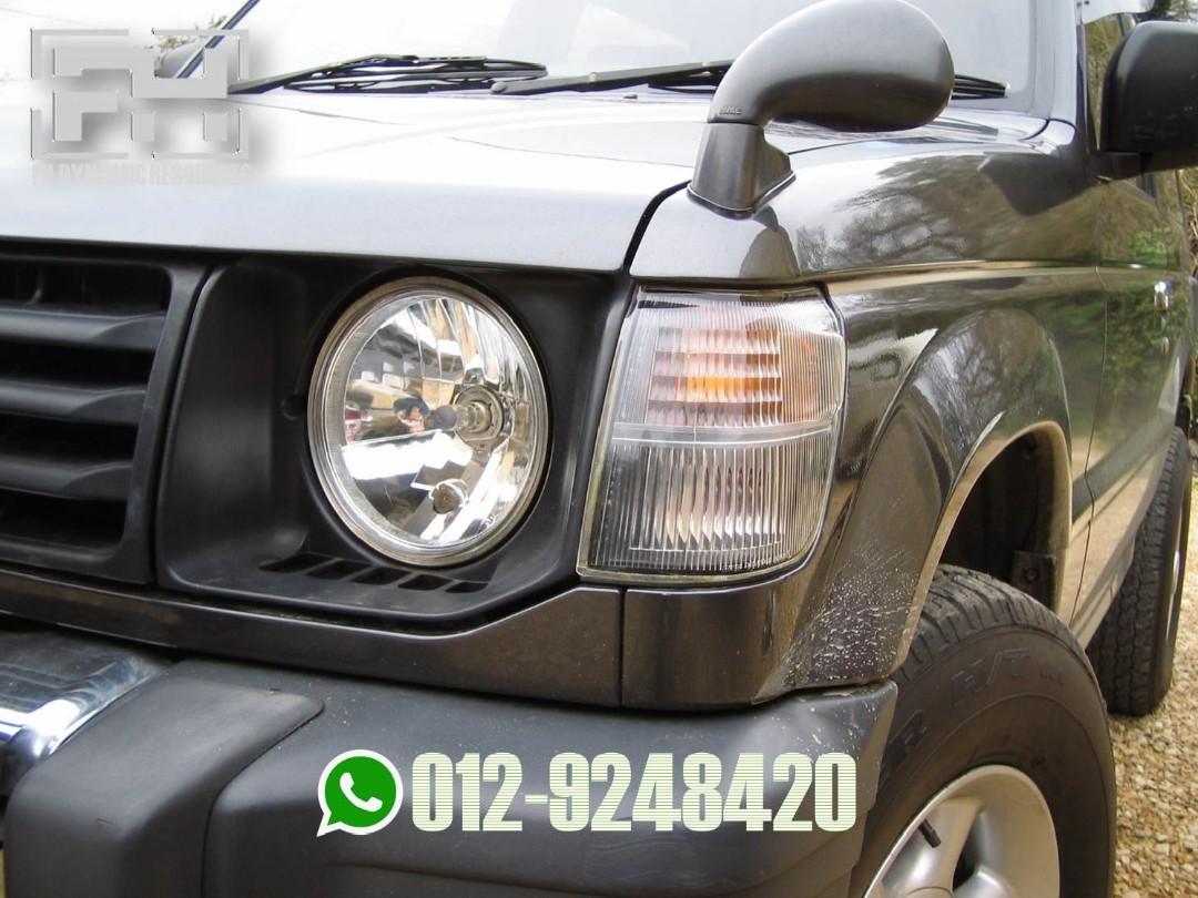 Mitsubishi Pajero Round Headlamp Cover, Auto Accessories on